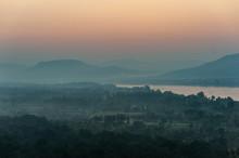 Sunrise On The Pha Taem Nation...