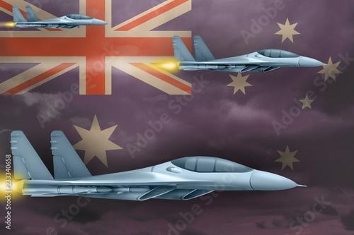 Fotografía  Australia air forces strike concept