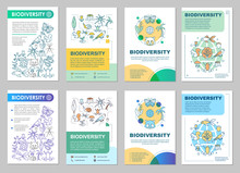 Biodiversity Brochure Template Layout