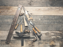 Vintage Carpenter Tools As A C...