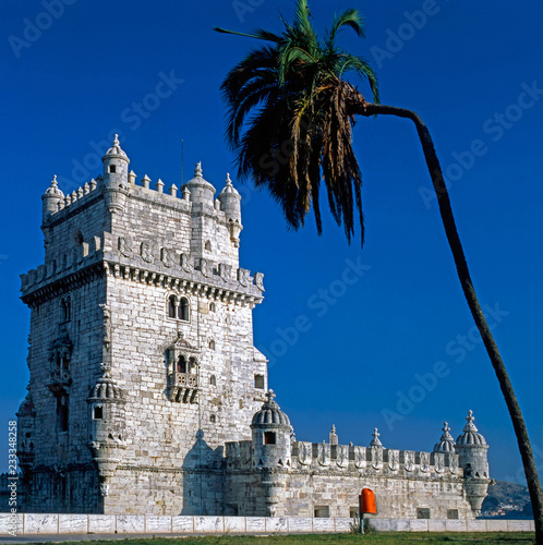 Canvas Print Belem Tower, Lisabon, Portugal
