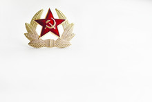 Cockade Military Private Of The Soviet Army