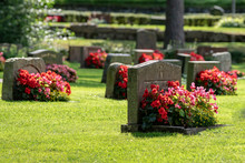 Grave Stones With Beautiful Re...