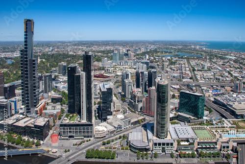 Tuinposter Melbourne City, Australia