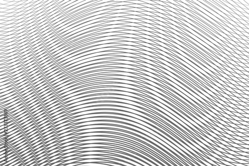 Photo  Monochrome abstract gradient background with moire effect.