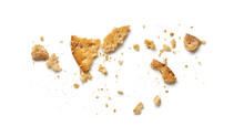 Scattered Crumbs Of Cookie Or ...