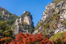 昇仙峡 覚円峰 紅葉