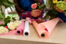 Three Decorative Paper Rolls