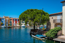 Lagoon Town Port Grimaud