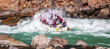 White Water Rafting With A Spl...
