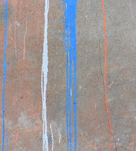 Abstract Paint Drips On Concre...