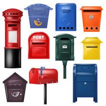 Mail Box Vector Post Mailbox P...