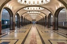 Metro De Moscou : La Station M...