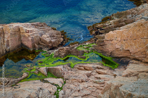 Tossa de mar in Catalonia, Spain.