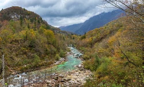 Papiers peints Alpes The Kozjak Waterfall is one of the greatest remarkableness in Kobarid region, Slovenia.