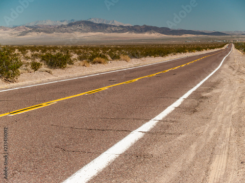 Photo  Route 66 Through the California Desert