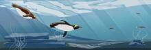 Realistic Antarctic Underwater...