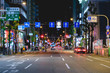 Shinsaibashi, Osaka, by night