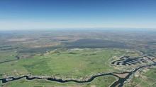 Aerial Of Sacramento River Tributaries Bethel Island Community