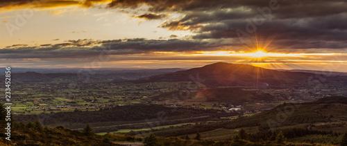 Obraz Cooley Mountains. Co Louth - fototapety do salonu