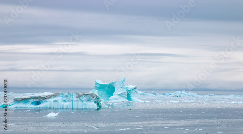 Cadres-photo bureau Pôle Diskobucht Grönland