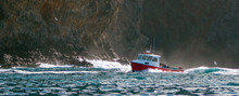 Down East Style Lobster Boat A...