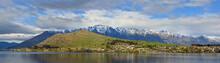 Panoramic View Of Lake Wakatipu, Remarkables & Kelvin Heights