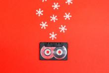 Audio Cassette Tape With Decor...