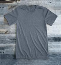 Heather Light Grey Blank Tee Shirt