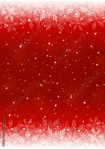 Snowflakes shiny borders for Your Christmas design