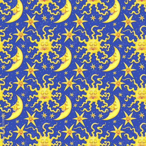 Azeeda A3 Scheinende Sonne Wandschablone 10