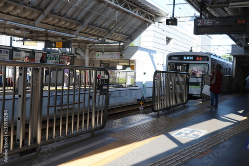 In de dag Theater Stock Photo - Japan subway station