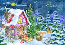 Christmas And New Year Greetin...