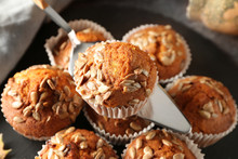 Delicious Pumpkin Muffins With...