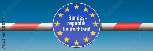 Fotografía Grenze Deutschland