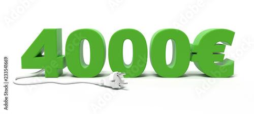 Photo  Prime à la conversion de 4000€