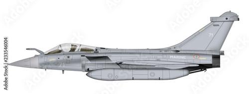 avion de chasse moderne 02 Canvas Print