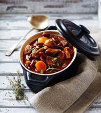 Beef Goulash With Mushrooms An...