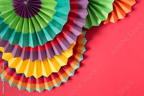 Photo  Paper colorful lanterns