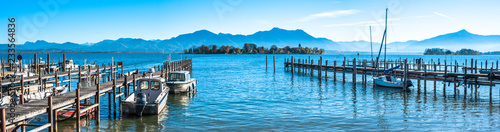 Foto op Aluminium Pool lake chiemsee - bavaria