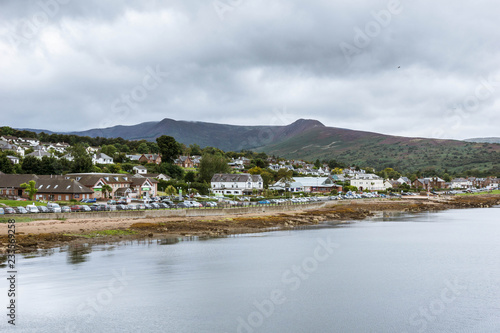 Photo Brodick town at isle of Arran