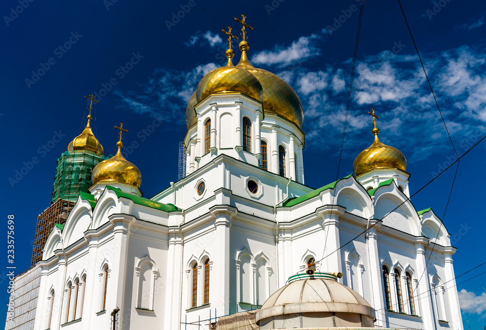 Fototapety, obrazy: Rostov-on-Don Cathedral of the Nativity of the Blessed Virgin Mary. Russia