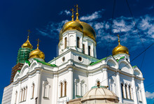 Rostov-on-Don Cathedral Of The Nativity Of The Blessed Virgin Mary. Russia