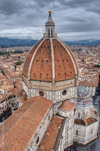 Vue sur les toits de Florence depuis le Campanile - Toscane - Italie