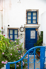 Exterior Of A Home In Greece