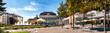 Panorama vom Kurhaus in Baden bei Wien