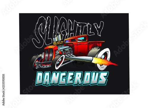 Fotografia hot rod truck 1