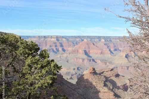 Keuken foto achterwand Bleke violet Grand Canyon