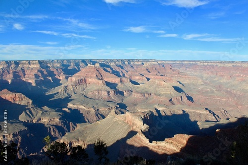 Tuinposter Donkergrijs Grand Canyon