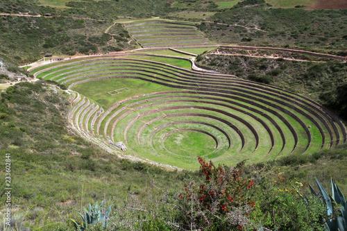 Spoed Foto op Canvas Zuid-Amerika land Moray